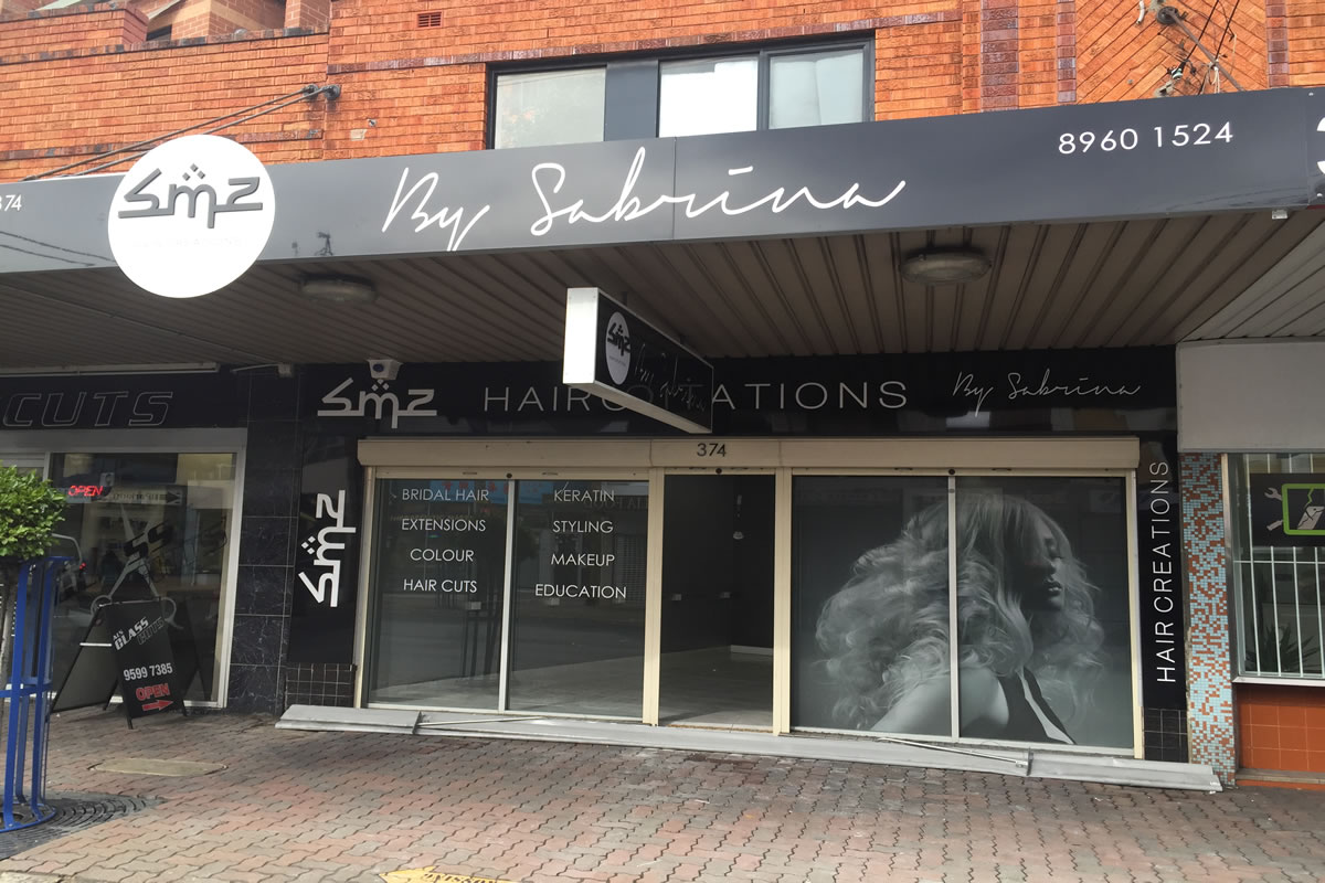 shop signs sydney